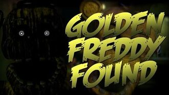 Golden Freddy found in FNaF 3 files!