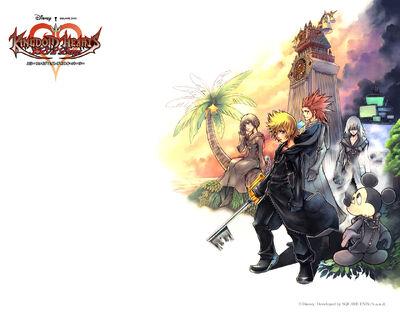 Kingdom Hearts 358 2 Days poster