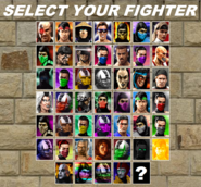 MKTD Character Select