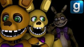 Gmod FNAF Spring Bunny's New Hobo Problem
