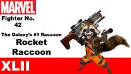 MvCA RocketRaccoonCard