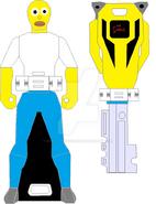 Homer simpson ranger key by signaturefox2013-d8f4r2w