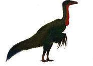Therizinosaurus life restoration