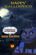 Thomas and the Magic Railroad 2019 Halloween Poster UK