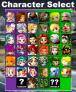 LoZvMD Character Select
