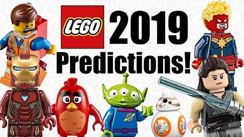 LEGO 2019 Sets Predictions!