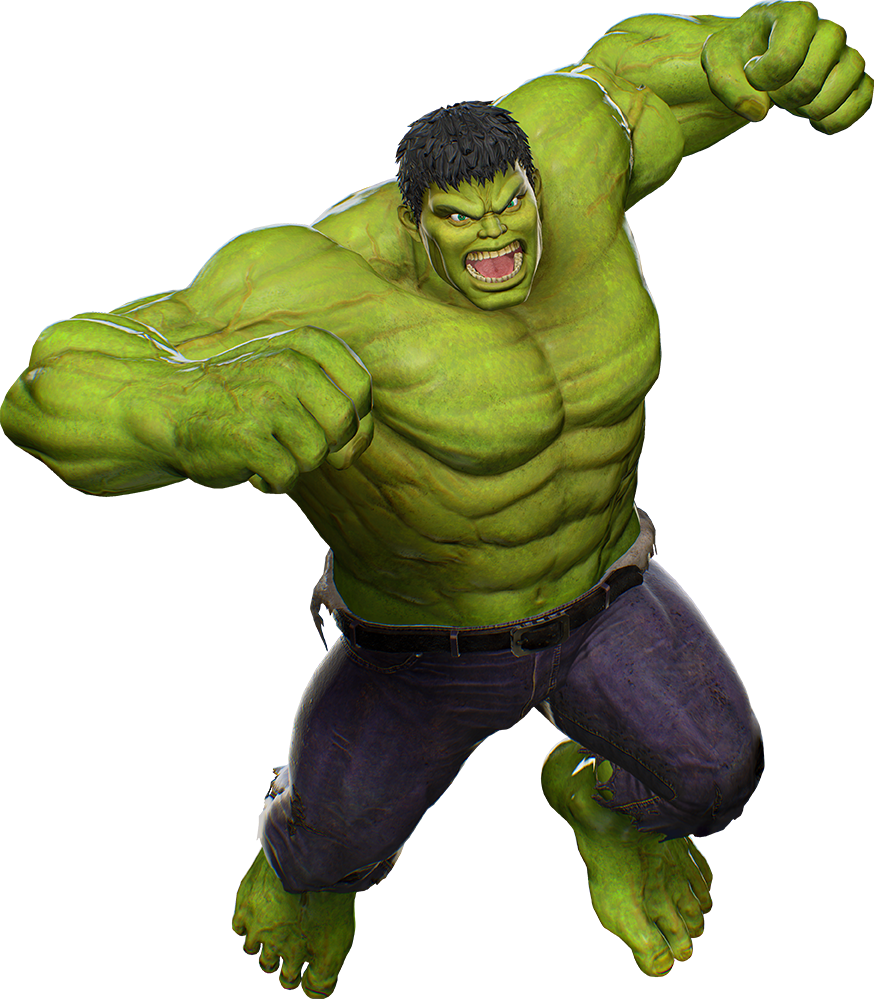 This is an image of Crafty Images of the Hulk