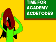 I HATE ACADEMY ACDETODES!