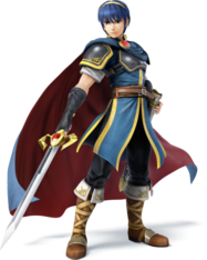 479px-SSB4 - Marth Artwork