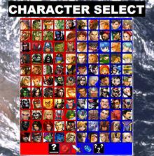 MvCA CharacterSelect