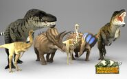 Scaled Dinos