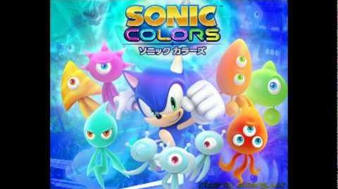 Sonic Colors Original Soundtrack - Red Burst ~Jingle