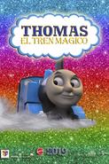 Thomas and the Magic Railroad 2019 Spanish Poster