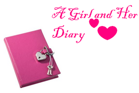 A Girl and Her Diary logo