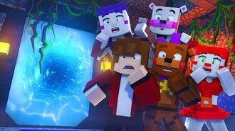 Minecraft FNAF 7 Pizzeria Simulator - A NEW PORTAL! (Minecraft Roleplay)