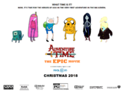 Adventure Time the Epic Movie poster