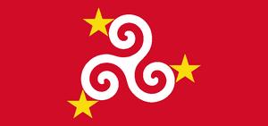 Mannin flag