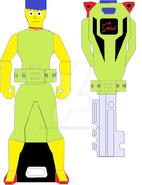 Marge simpson ranger key by signaturefox2013-d8f4hyk