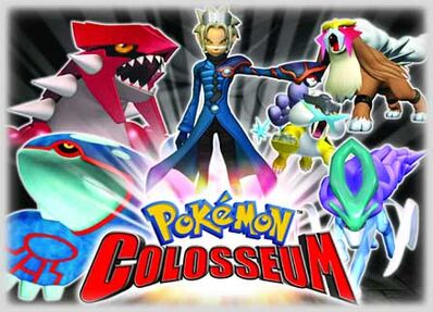 Pokemon Colosseum poster