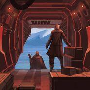 Cebon in Episode 8 as The Republic Unload