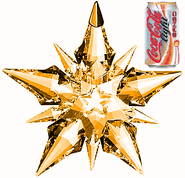 Coca-Cola Light Sango Crystal Star