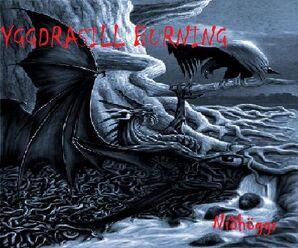 Yggdrasill Burning-Níðhöggr