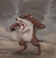 Realistic taz the tasmanian devil by sp hera-d9atiny