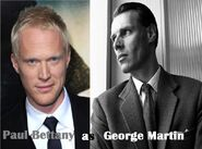 Paul Bettany as George Martin