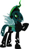 485528 safe solo simple+background vector transparent+background queen+chrysalis rule+63 changeling artist-colon-itoruna-dash-the-dash-platypus king+metamorphosis