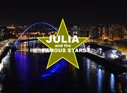 Julia and the Famous Stars The Movie Title Card
