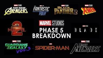 Marvel Phase 5 Full Slate Breakdown All Confirmed Upcoming MCU Movies And Everything We Know