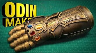 Odin Makes The Infinity Gauntlet, from Avengers Infinity War