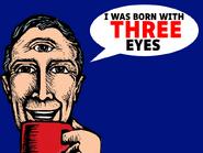 I Wa Born With 3 Eyes
