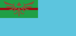 Sky knight flag