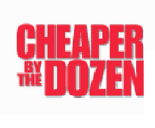 Cheaper by the Dozen logo