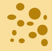 Birthmark with brown spots