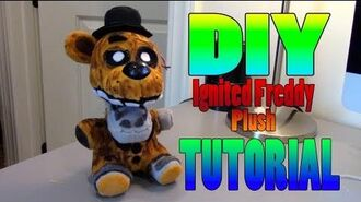 DIY Ignited Freddy Plush Tutorial