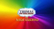 Thomas the Tank Engine Magic Railroad UK Title Card