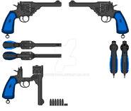 Webley service revolver m6 by sudeepdash-d3b97ua