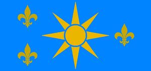 Soleil flag