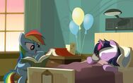 Rainbow-dash-reading-to-twilight-sparkle-in-the-hospital-27982-400x250
