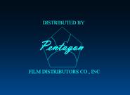 Pentagon Film Distributors Co., Inc. 1943-1944 Logo