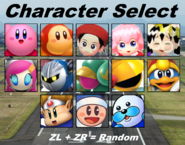KARZG Character Select