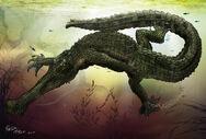 Gryposuchus croizati by pauloomarcio-d4hdvmu