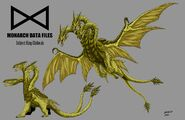 Kaiju commissions monarch files king ghidorah by bracey100 d9rbblk-fullview