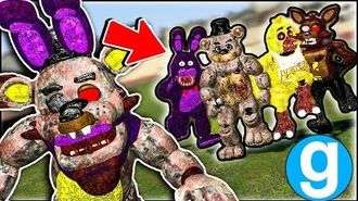 New Fazbear Twisted Ones Pill Pack Funny Moments - Garry's Mod Gameplay - FNAF Gmod