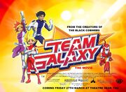 Team Galaxy The Movie (1992) Poster