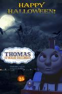 Thomas and the Magic Railroad 2019 Halloween Poster US