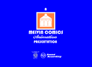 Melvin Comics Animation 1958-1980 Logo
