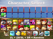 MXS Character Select 01